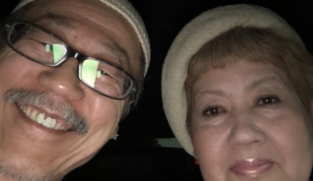 私のお父さんとお母さん