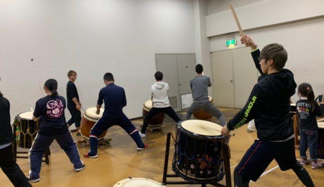 和太鼓教室ハルノオト活動日記③