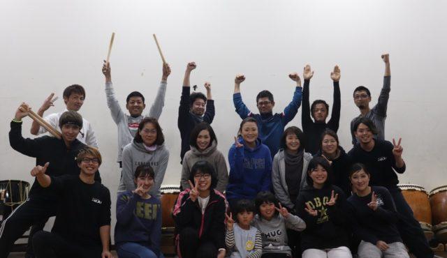 和太鼓教室ハルノオト 活動日記④